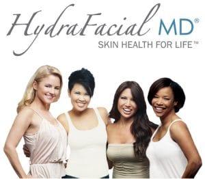 Group of Woman representing HydraFacial